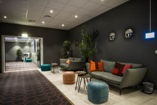 Conference loung area. Sitting group + sofa