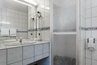 Scandic Bodo, Bodo, standard twin room, bathroom