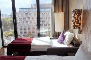 room standard family three at scandic berlin potsdamer platz in germany
