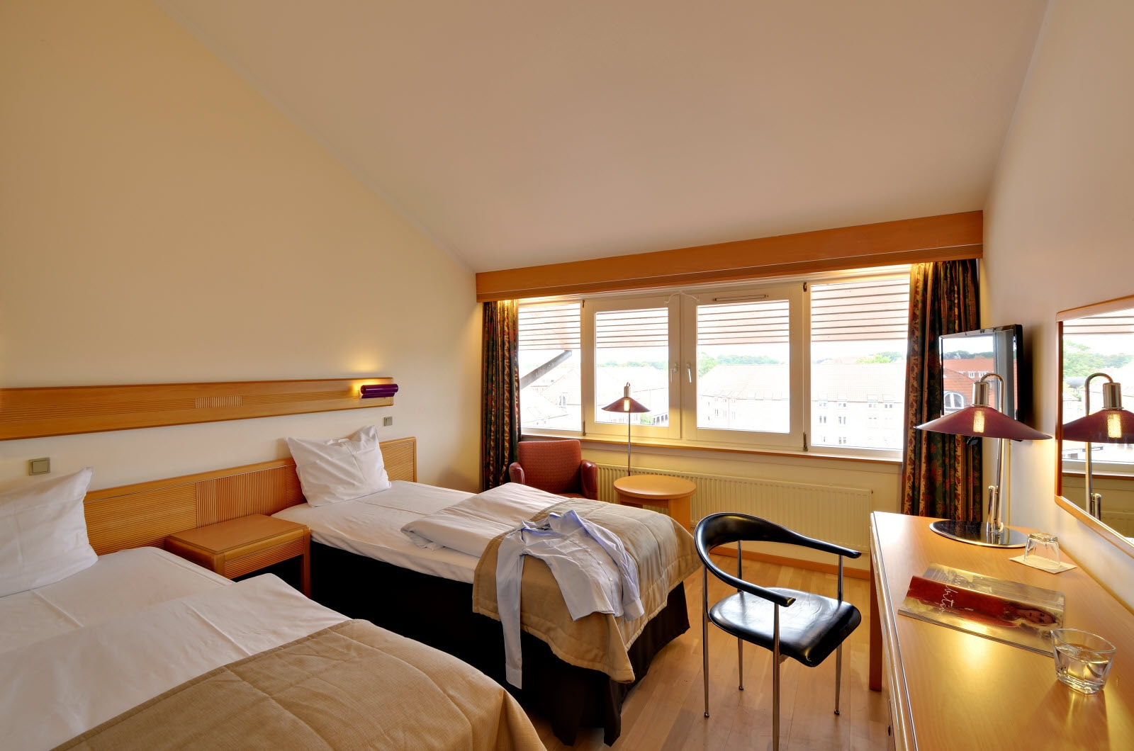 Scandic Ringsted, standard twin room