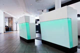 Scandic Karlstad City, lobby, front office desk
