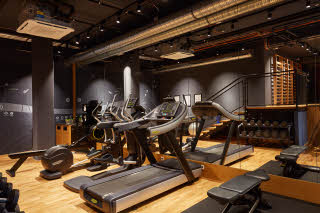 gym at scandic frankfurt museumsufer in germany