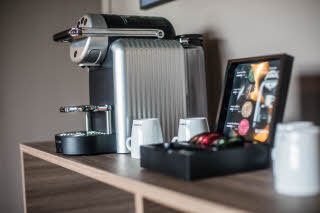 Nespresso machine Junior Suite, Scandic Glostrup