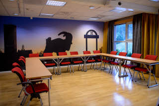 conference room karebocken at scandic lugnet in falun sweden
