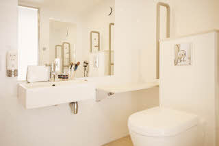 Scandic Haugesund, bathroom, WC, availability