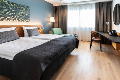 superior room at scandic espoo finland