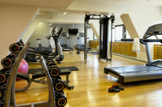 Scandic Copenhagen, Gym with training equipment