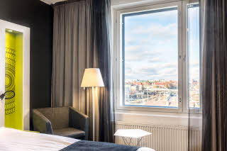superior room view scandic tampere station hotel finland
