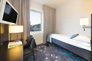 Scandic Hammerfest, Hammerfest, standard room, single room