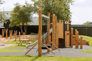 Outdoor playground, Scandic Hvidovre