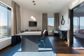 Scandic Havet, Bodo, suite, bedroom