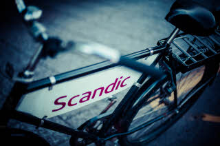 details of Scandic Linkoping Vast bicycle