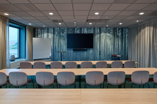 meeting room at scandic ornskoldsvik in sweden