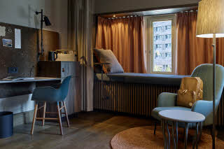 Room of Downtown Camper by Scandic in Stockholm