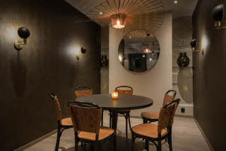 restaurant chambre separee at scandic oslo city in norway