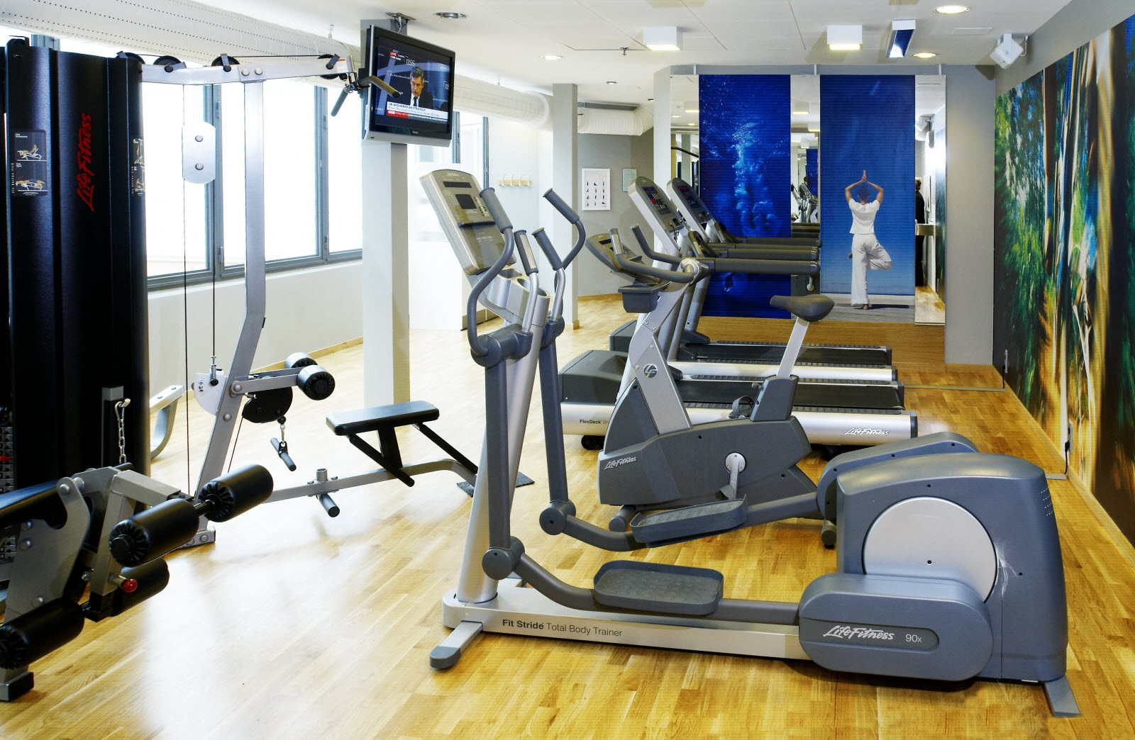 Scandic Crown, Gym