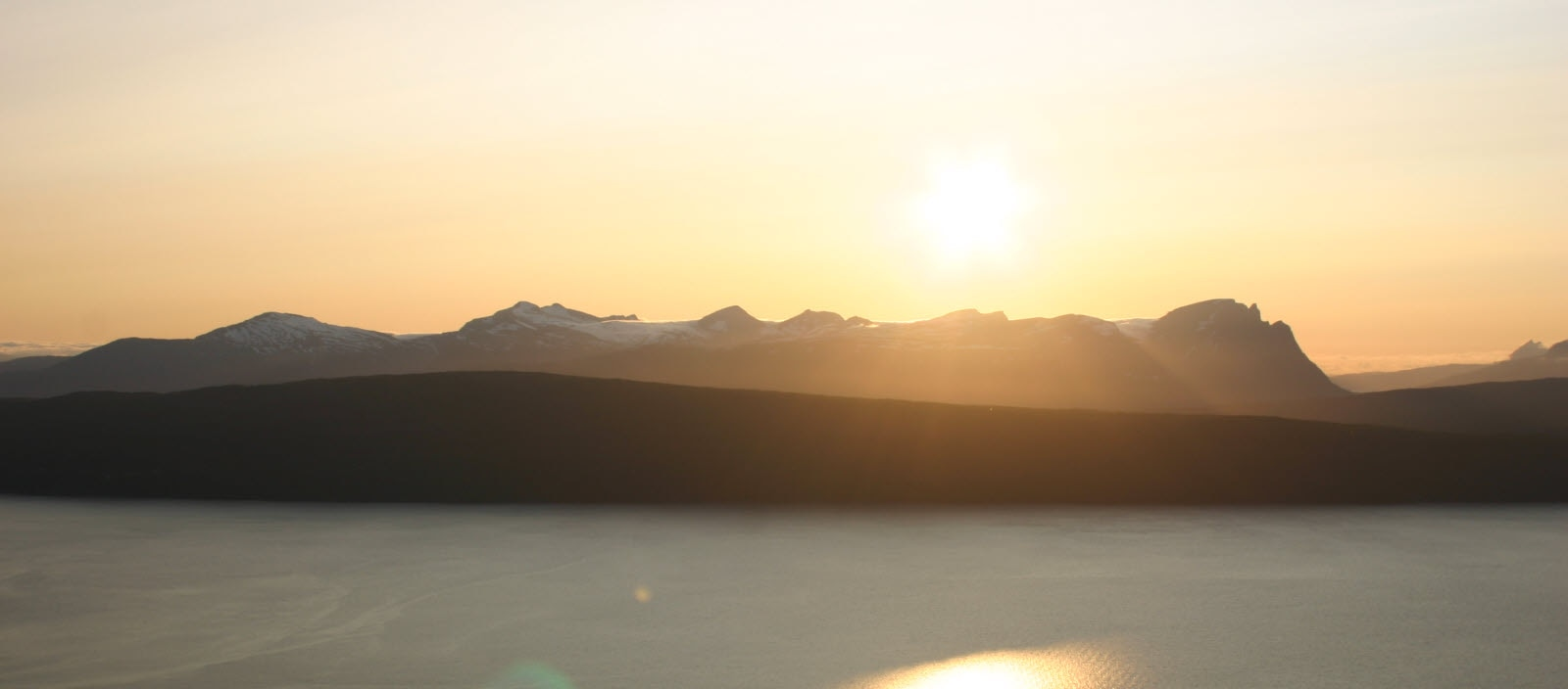 Sunset in Narvik