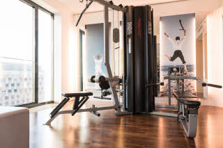 Gym of Scandic Berlin Potsdamer Platz hotel