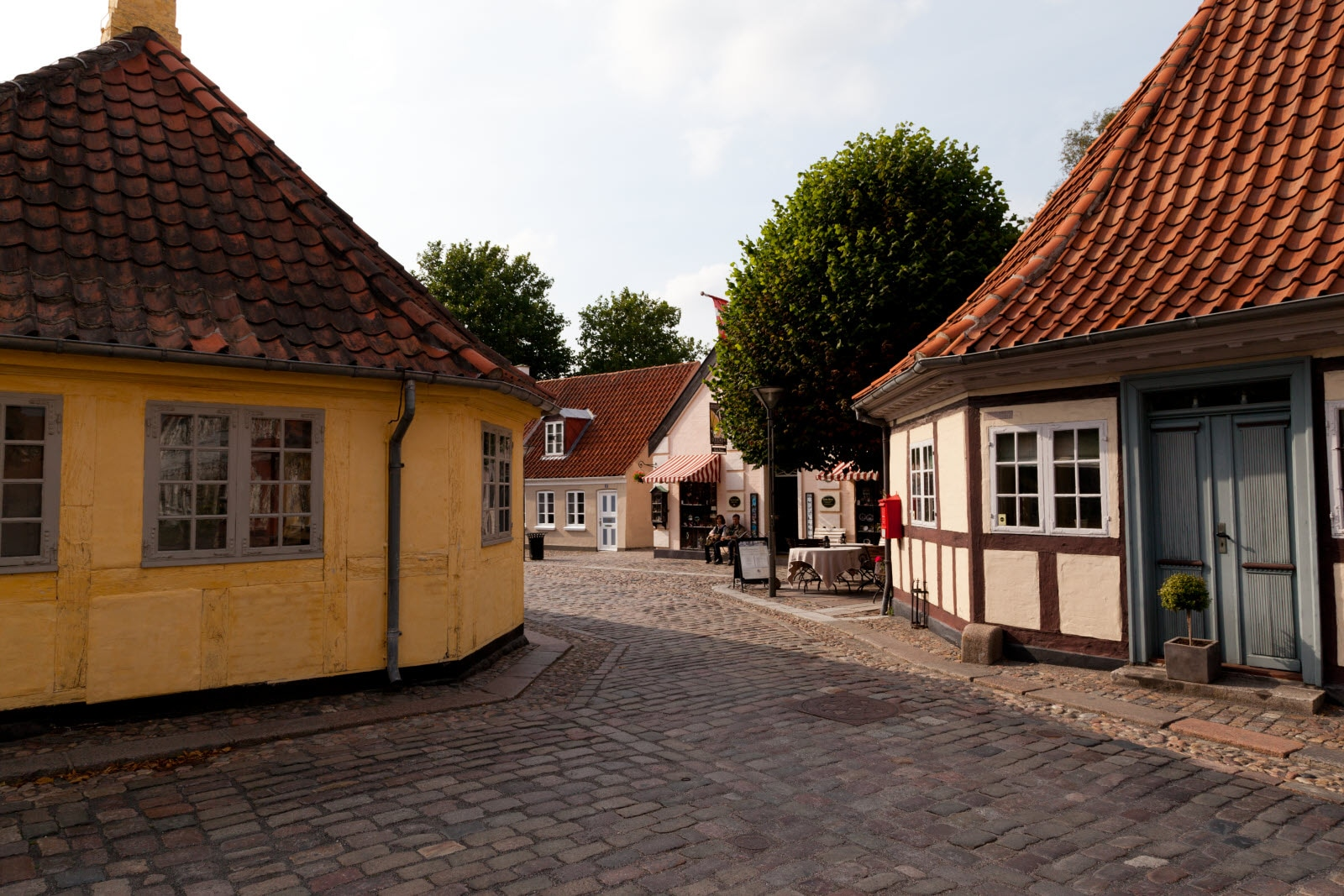 The Old Town in Odense