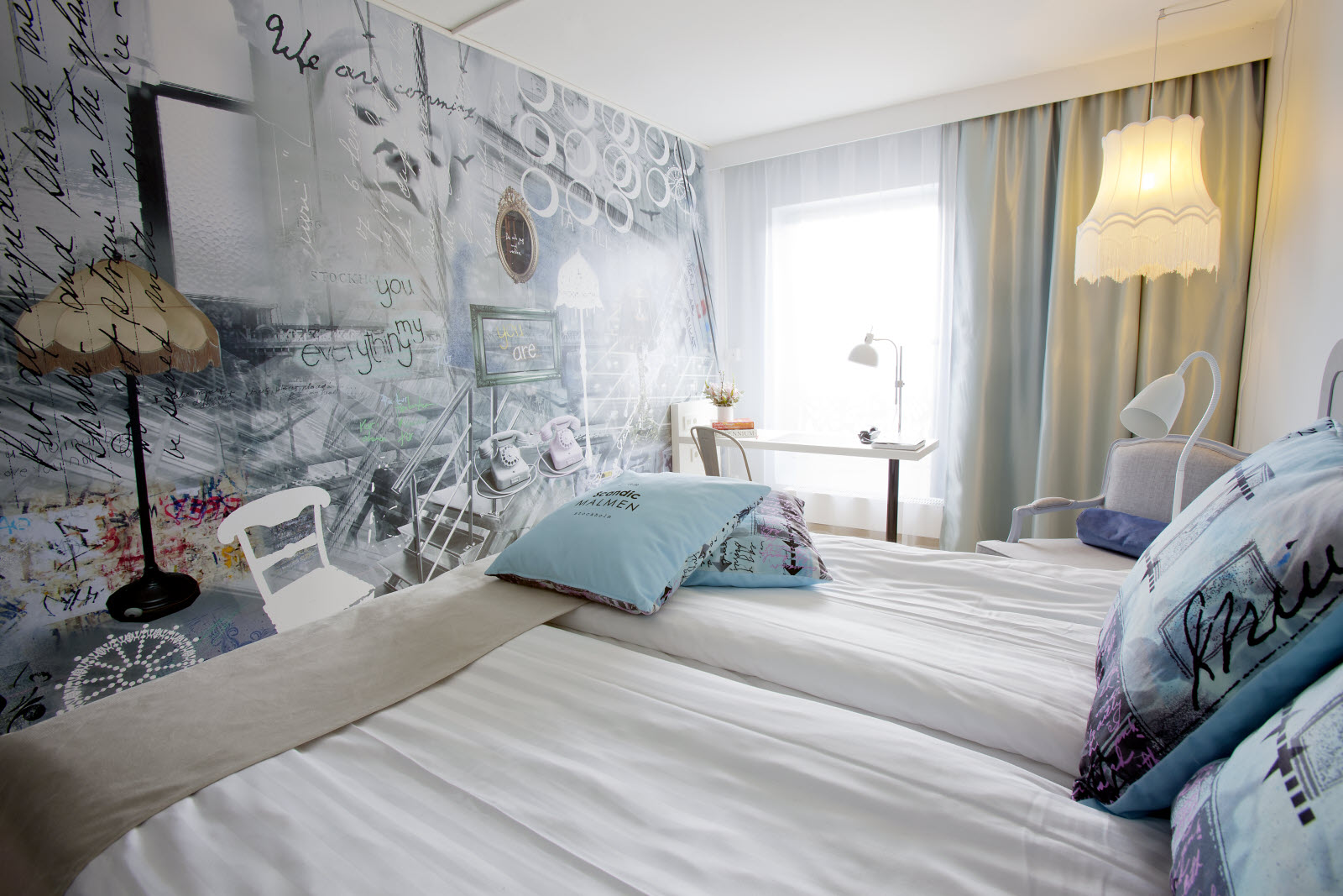 Scandic Malmen, room, bed