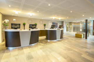 Scandic Bakklandet, Trondheim, front desk, reception