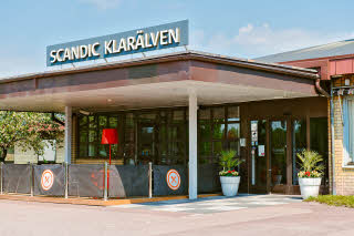 Scandic Klaralven, entrance