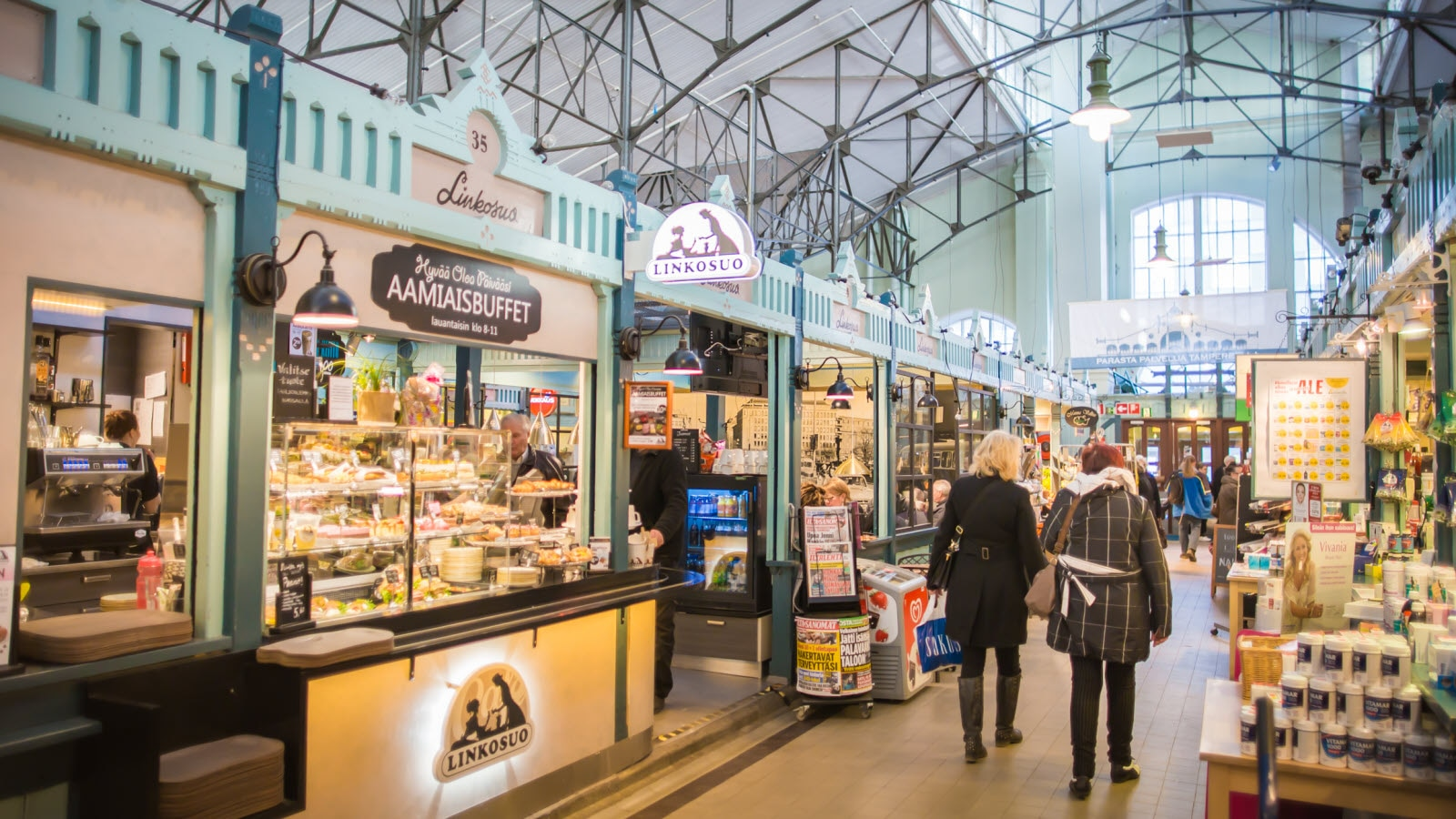 Tampere markethall
