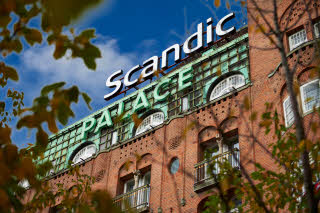 Scandic Palace Hotel, exterior