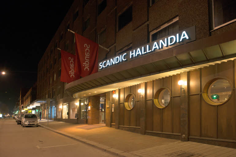 Scandic Hallandias fasad