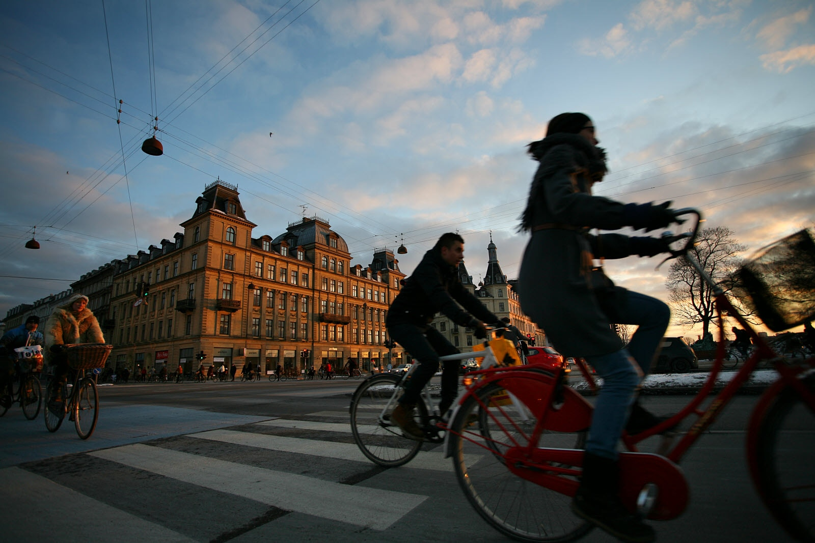 Bicycles in Copenhagen center