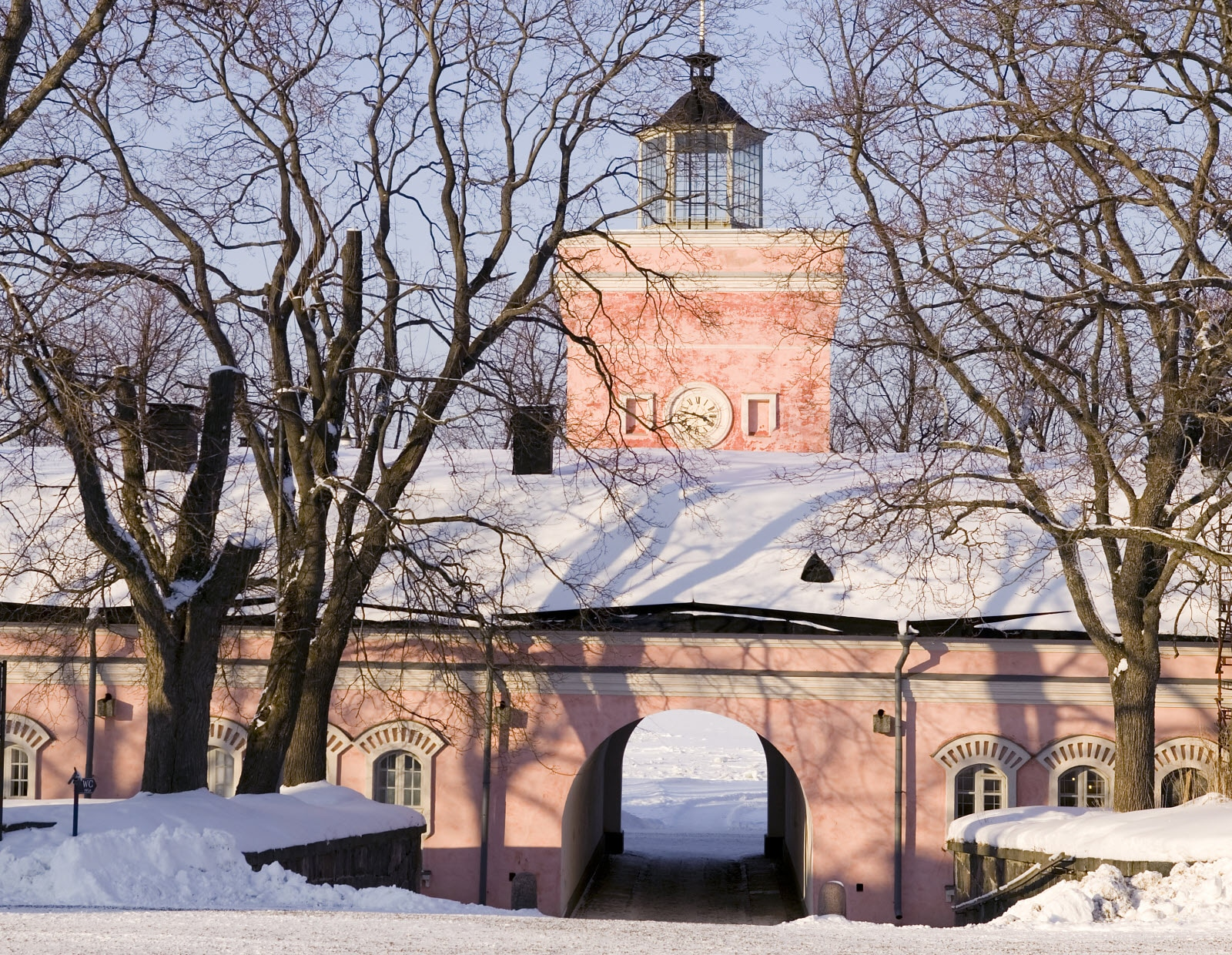 Sveaborg in winter. Copyright Comma Image Oy, City of Helsinki