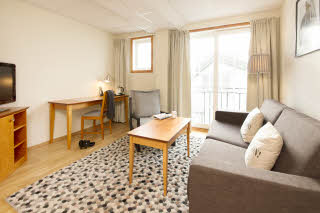 Scandic Grimstad, Grimstad, junior suite, lounge